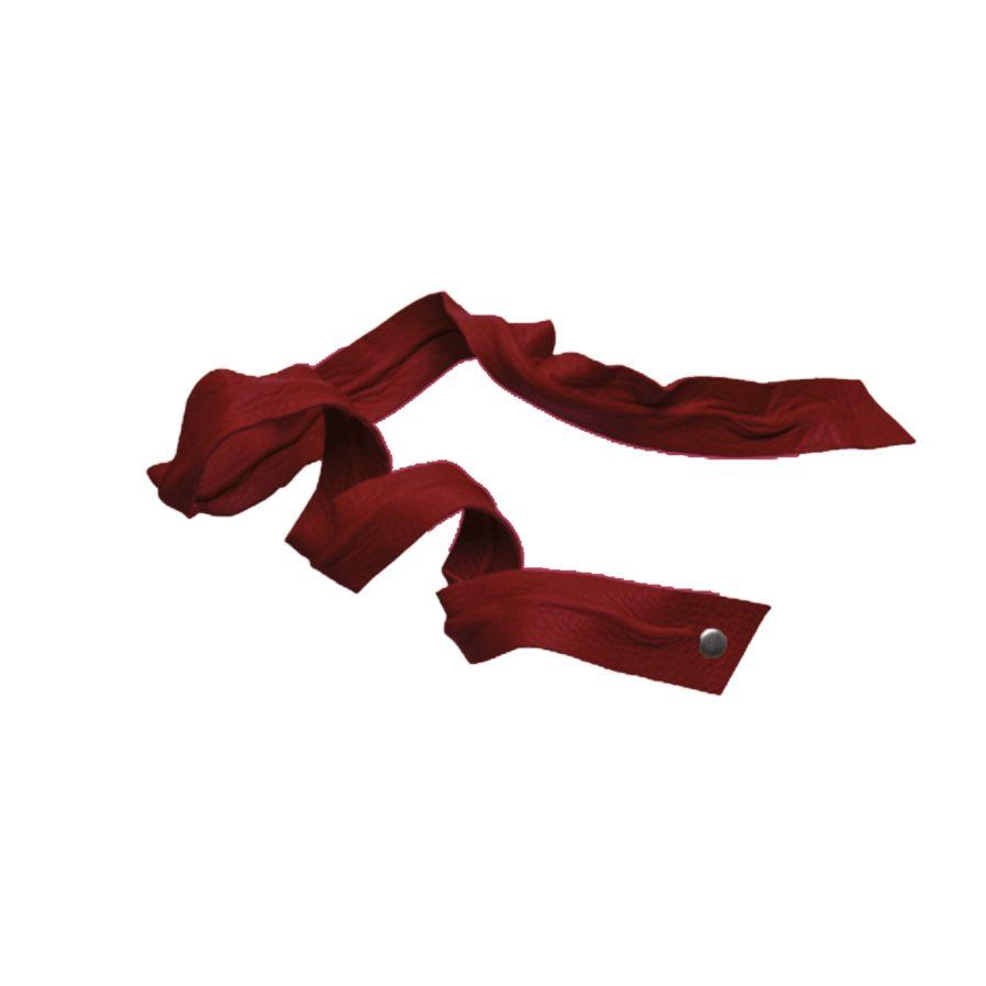 Corinne Leather Band / Headband Long Bendable