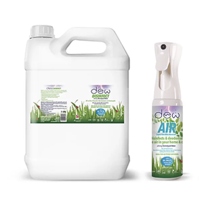 Dew Air Super Fine Mist Atomiser - 185ml and 5L Refill