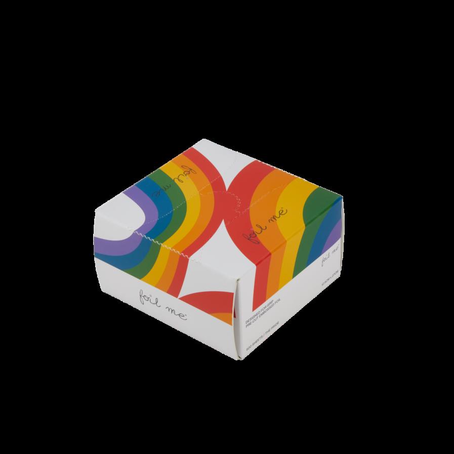 """Foil Me THE PRIDE (PRE-CUT FOIL - 500 SHEETS - 5"""" X 10.75"""")"""