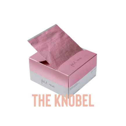 "Foil Me THE KNOBEL (PRE-CUT FOIL - 500 SHEETS - 5"" X 10.75"")"