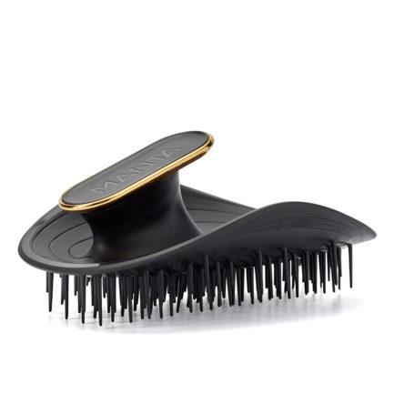 The Manta Hairbrush -Black