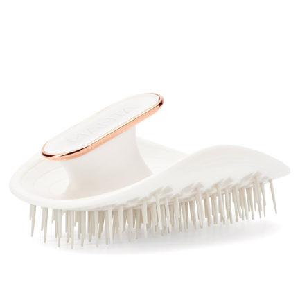The Manta Hairbrush - White