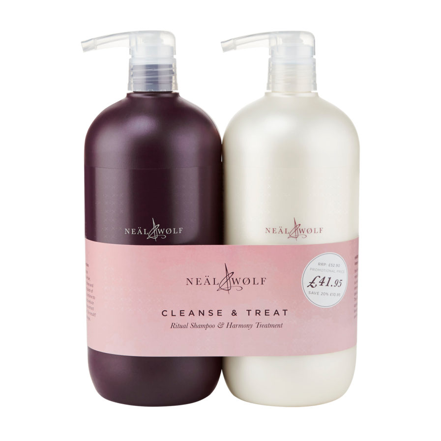 Neal & Wolf CLEANSE & TREAT Backwash Duo