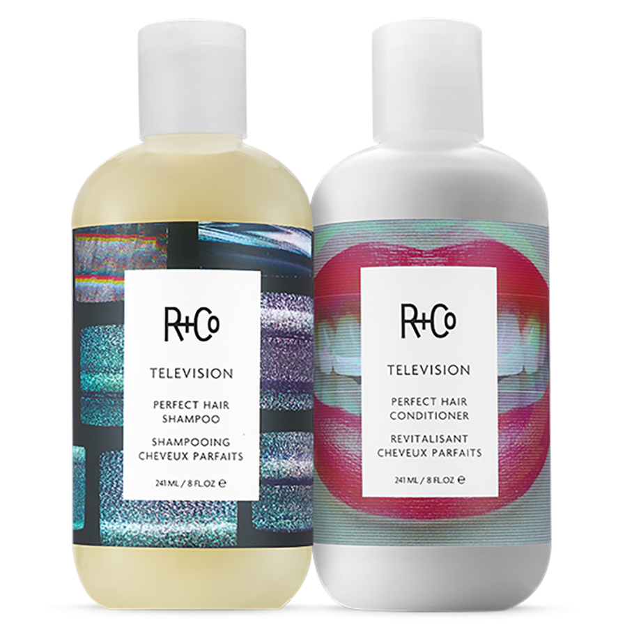 R+Co Television Shampoo and Conditioner