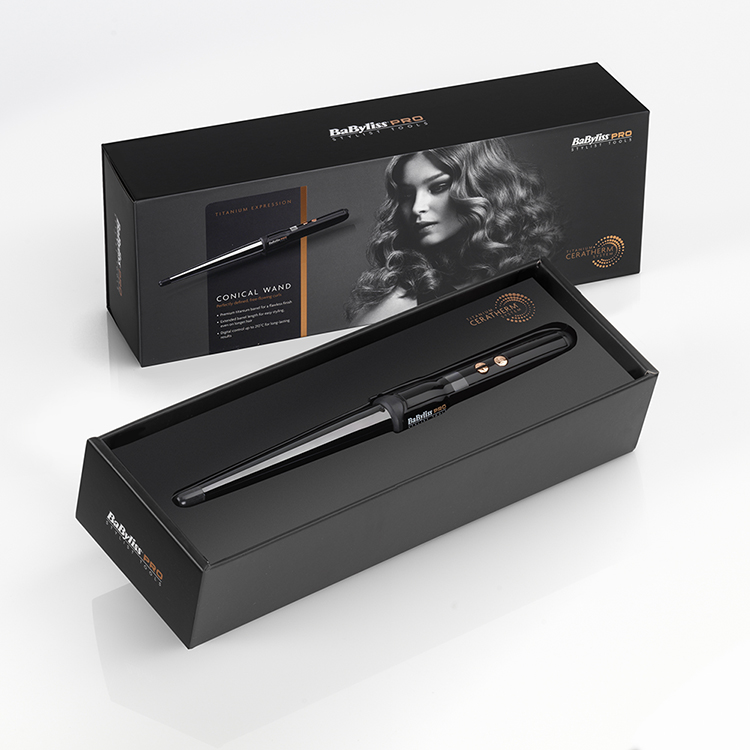Babyliss TITANIUM EXPRESSION 25-13MM CONICAL WAND