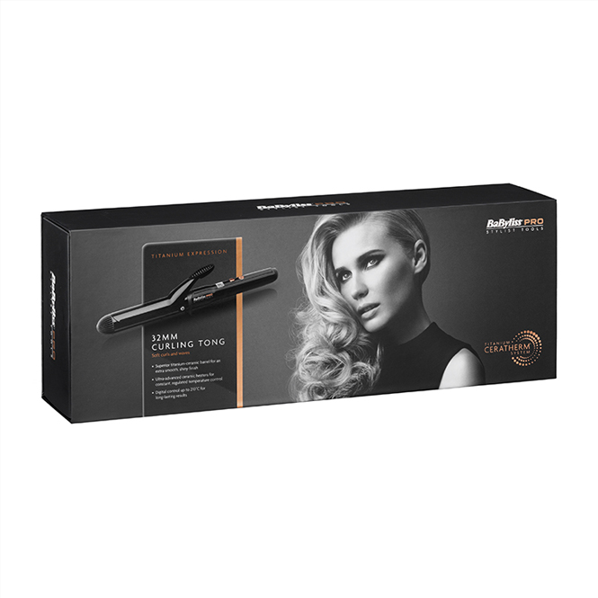Babyliss TITANIUM EXPRESSION 32MM CURLING TONG