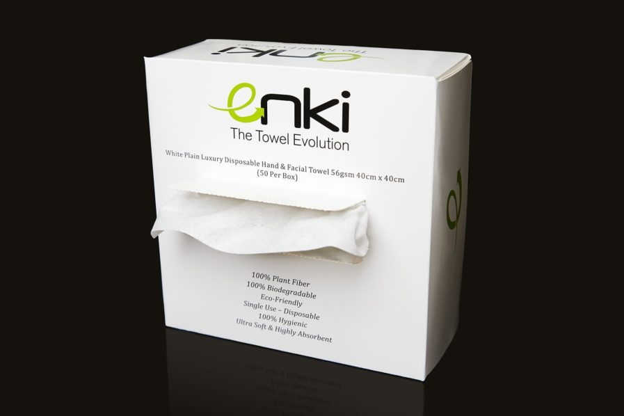 Enki Biodegradable Towels - full case 900 towels