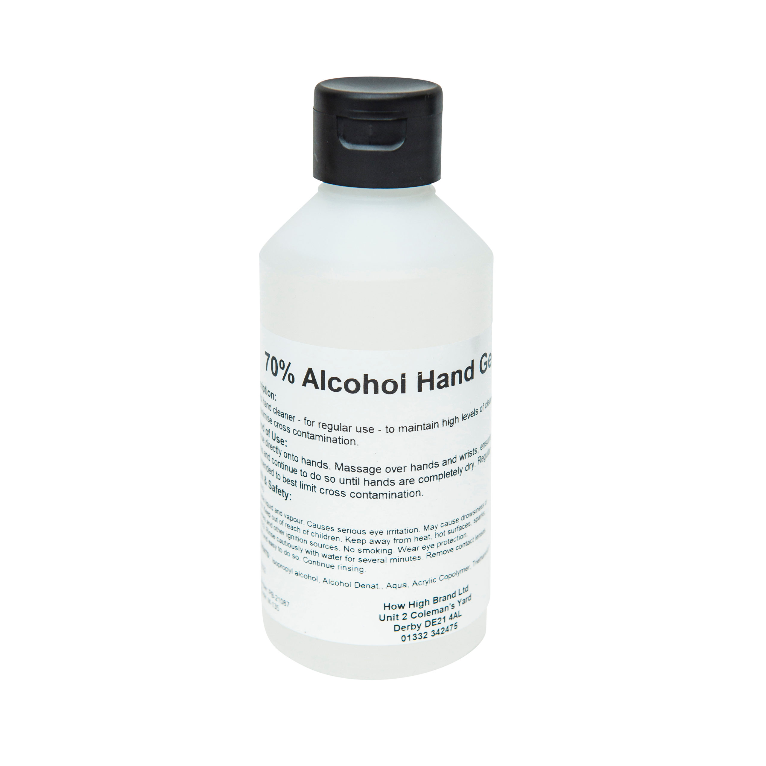 How High 70% Gel Hand Sanitiser - 250ml Pack of 10